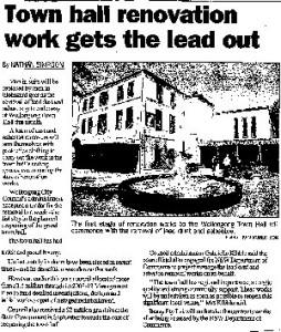 Wollongong-Project---Beasy-mention-in-local-paper---6-Dec-08